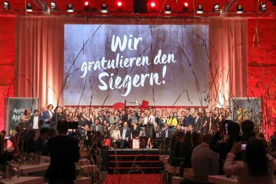 Alle Sieger des Out of Home Awards 2017 / Foto: Gewista